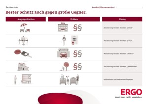 ERGO Onepager Rechtsschutz (Bild)